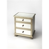 BUTLER Accent Chest, Silver Leaf
