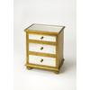 Grable Gold Leaf Accent Chest, Gold Leaf