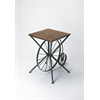 Industrial Chic Accent Table, Industrial Chic