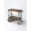 BUTLER Trolley Server, Industrial Chic