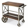 Industrial Chic Trolley Server, Industrial Chic