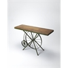 Industrial Chic Console Table, Industrial Chic