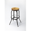 Butler  Industrial Chic Bar Stool, Industrial Chic