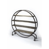 Orion Industrial Chic Display Bookcase, Industrial Chic