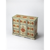 Hand Painted Accent Chest, Artifacts