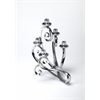 Polished Aluminum Candelabra, Hors D'oeuvres