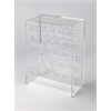 Crystal Clear Acrylic Wine Rack, Clear Acrylic
