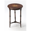 Isla Plantation Cherry Accent Table, Plantation Cherry