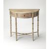 Skilling Driftwood Demilune Console Table, Driftwood