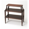 Appleton Plantation Cherry Tiered Console Table, Plantation Cherry