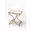 Esperanza Antique Gold End Table, Antique Gold