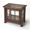 Hendrick Plantation Cherry Chairside Curio, Plantation Cherry