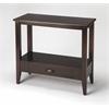 Barclay Merlot Console Table, Merlot