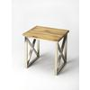 Laudan Industrial Chic End Table, Industrial Chic