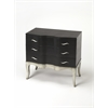 Fleurot Leather Console Chest, Cosmopolitan