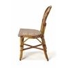 Leena Rattan Side Chair, Brown