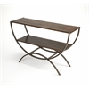 Harmony Industrial Console Table, Industrial Chic
