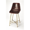 Commercial Leather Bar Stool, Loft