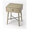 Delridge Gray End Table, Loft