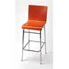 Watney Red Bar Stool, Red