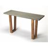 Massey Concrete & Wood Console Table, Loft