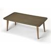 Bannister Concrete & Wood Cocktail Table, Loft