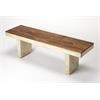 Lufkin Solid Wood Bench, Loft
