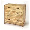 Arcot Mango Wood Console Chest, Loft