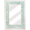 Serena Blue Bone Inlay Wall Mirror, Blue Bone Inlay