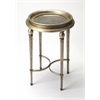 Vittoria Antique Mirror End Table, Modern Expressions