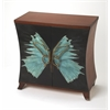 Karner Hand Painted Console Cabinet, Designer's Edge
