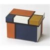 Mosaic Leather Storage Box, Hors D'oeuvres