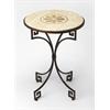 BUTLER RHEA FOSSIL STONE SIDE TABLE