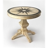 BUTLER REMUS FOSSIL STONE FOYER TABLE