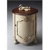 Butler Kenwood Vanilla & Cherry Drum Table, Vanilla & Cherry