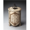 Kenwood Gilted Cream Drum Table, Gilted Cream