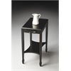 Gilbert Black Licorice Side Table, Black Licorice