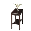 Gilbert Cordovan Side Table, Cordovan