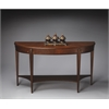 Astor Nutmeg Demilune Console Table, Nutmeg