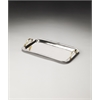 Butler Marten Stainless Steel & Brass Serving Tray, Hors D'oeuvres
