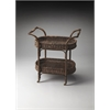 Fiji Rattan Serving Cart, Designer's Edge