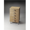 Lara Raffia Accent Chest, Loft