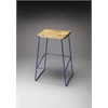 BUTLER Bar Stool, Blue