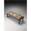 Butler Navajo Jute Upholstered Bench, Taos