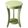 Holden Green Contemporary Accent Table, Green