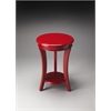 Butler Holden Red Contemporary Accent Table, Red