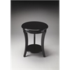 Holden Black Contemporary Accent Table, Black