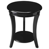 Butler Holden Black Contemporary Accent Table, Black