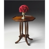 Adolphus Plantation Cherry Octagonal Accent Table, Plantation Cherry
