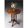 BUTLER Octagon Accent Table, Olive Ash Burl